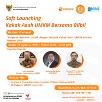 Soft Launching Kakak Asuh UMKM Bersama Blibli