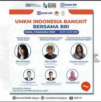UMKM Indonesia Bangkit Bersama BRI