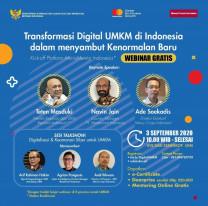 Transformasi Digital UMKM di Indonesia dalam menyambut Kenormalan Baru