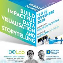Build Impactful Data Visualisation and Storytelling