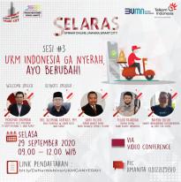 UKM Indonesia Ga Nyerah, Ayo Berubah!