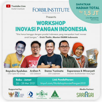 Workshop Online Inovasi Pangan Indonesia
