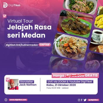 Virtual Tour Jelajah Rasa Kuliner Seri Medan