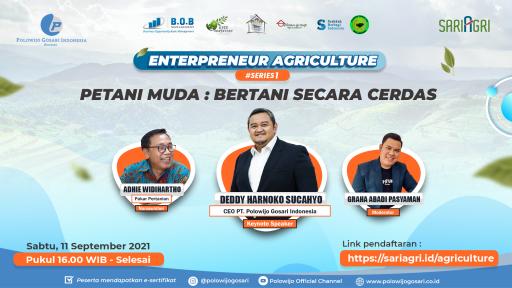Webinar Petani Muda: Bertani Secara Cerdas