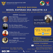 Model Koperasi Era Industri 4.0