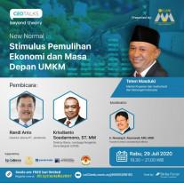 Stimulus Pemulihan Ekonomi dan Masa Depan UMKM