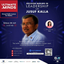 Decision Making In Leadership With Jusuf Kalla