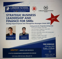 Strategic Business Leadership and Finance For SMEs
