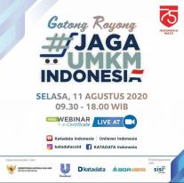 Gotong Royong Jaga UMKM Indonesia