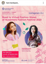 Road to Virtual Fashion Shows of Nusantara Fashion Festival 2020