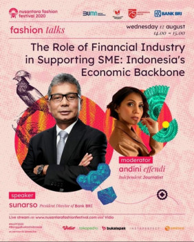 The Role of Financial Industry in Supporting SME : Indonesia's Economic Backbone