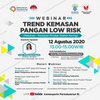 Trend Kemasan Pangan Low Risk