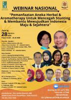 Pemanfaatan Aneka Herbal & Aromatherapy Untuk Mencegah Stunting & Membantu Mewujudkan Indonesia Maju & Sejahtera