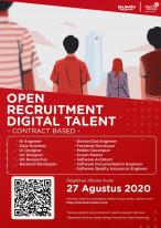 Open Recruitment Digital Talent