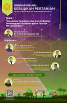 Perubahan Paradigma dan Arah Kebijakan Pembangunan Pertanian dalam Tatanan Perubahan Baru