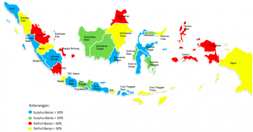Menjaga Keberlanjutan Perdagangan Antar Wilayah Komoditas Beras di Indonesia